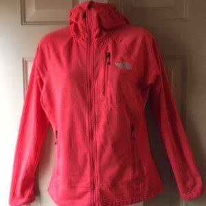 """The NorthFace """"Summit Series"""" Coral Zip Up Jacket"""